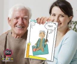 tu abuelo necesita una caricatura