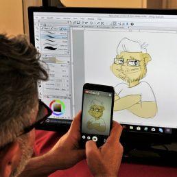 Realizamos tu caricatura digital