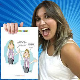 Un cómic con tu caricatura