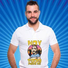 una camiseta original con caricatura