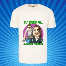 camiseta caricatura de pareja