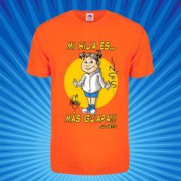 camiseta niño niña con caricatura