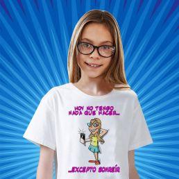Camiseta con caricatura barato e economico